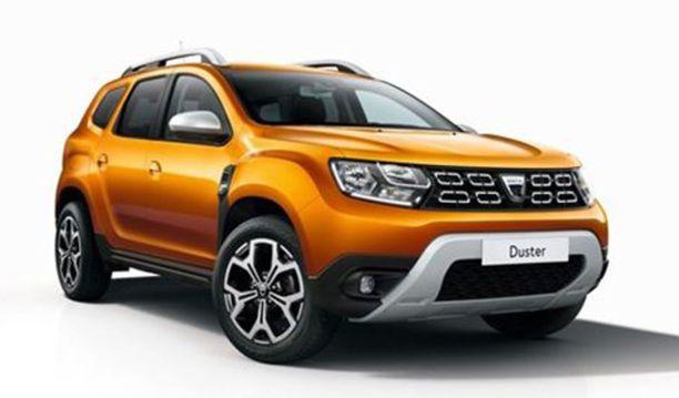 Alkaen Dacia Dusterista... Näyttelyssä ovat kaikki autoilun luokat mukana.