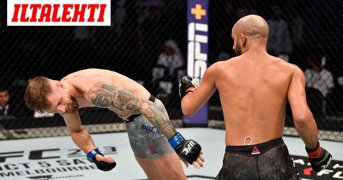 Teemu Packalénin tyrmännyt UFC-lupaus sai potkut ihmeellisestä tempusta...