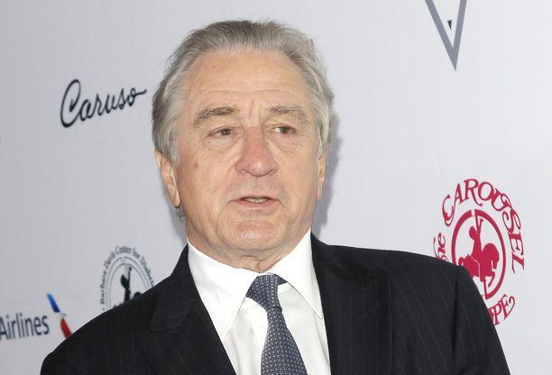 Robert De Niro on kritisoinut rajusti Donald Trumpia.