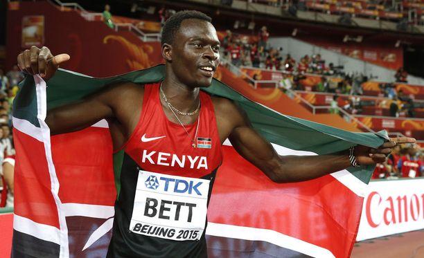Nicholas Bett menehtyi keskiviikkoaamuna kotimaassaan Keniassa.