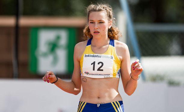 Ella Junnila voitti Lapinlahdella.