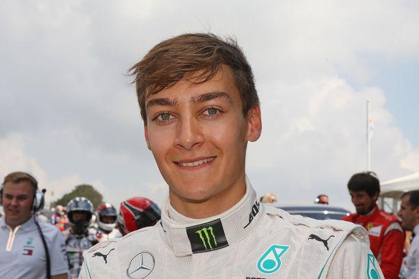 George Russell ajaa ensimmäistä kauttaan Williamsin F1-tiimissä.