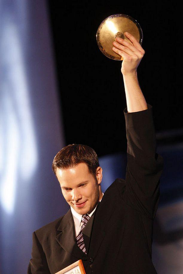 Tero Pitkämäki on Vuoden urheilija 2007.