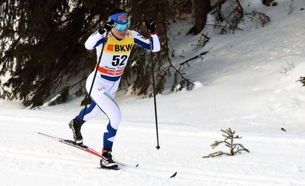 Krista Pärmäkoski on 4:s Tourilla 3/7 etapin jälkeen.
