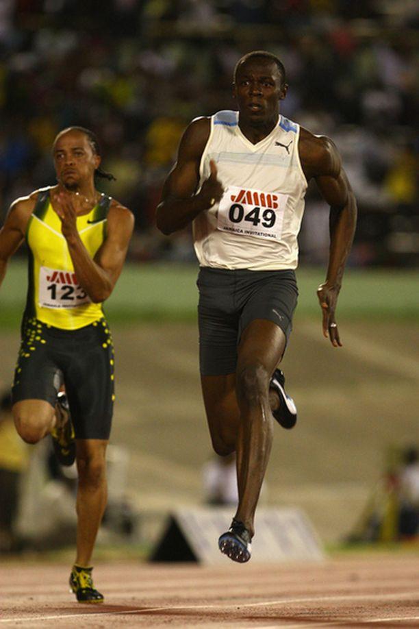 Jamaican Bolt paransi 0,02 sekuntia maailmanennätystä.