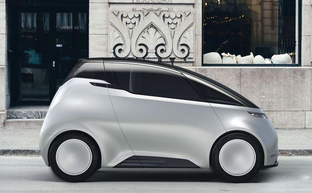 Uniti One on huomiota herättävän näköinen pieni täyssähköauto, jonka ominta ympäristöä ovat kaupunkien keskustat.