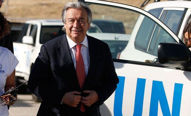 Antonio Guterres on Portugalin entinen pääministeri.
