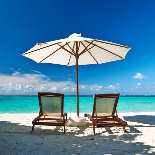 Rauhaa ja merta. Monelle se riittää syyksi matkata Malediiveille.