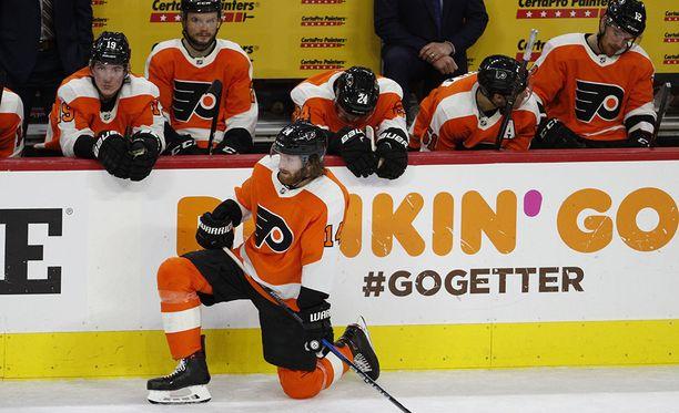 Philadelphia Flyersin kausi päättyi pettymykseen.