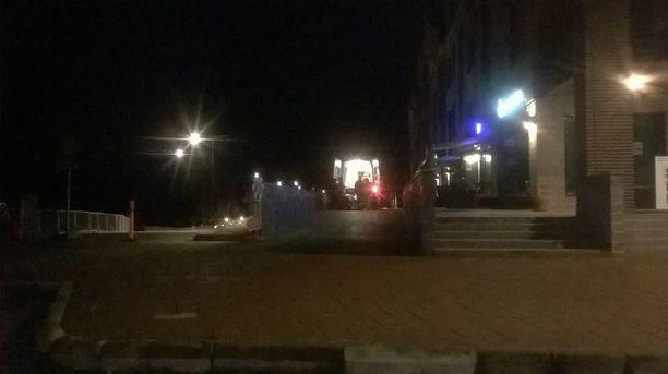 Viime marraskuussa ambulanssi hälytettiin apuun. Kyytiin vietiin ravintolan asiakas.