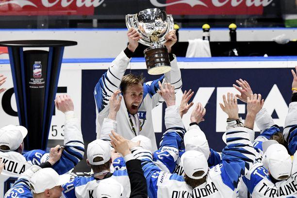 Tätä hetkeä Marko Anttila ja kumppanit eivät koskaan unohda.