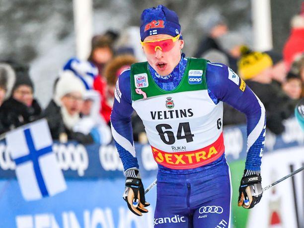 Iivo Niskanen lykki Suomen ykkösjoukkueessa.