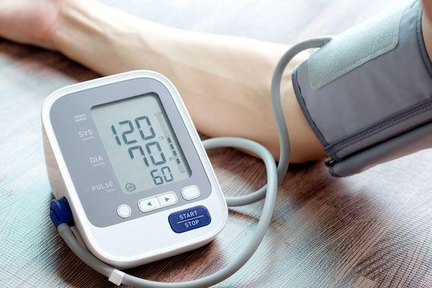 Tällä henkilöllä on verenpaine hyvällä mallilla.