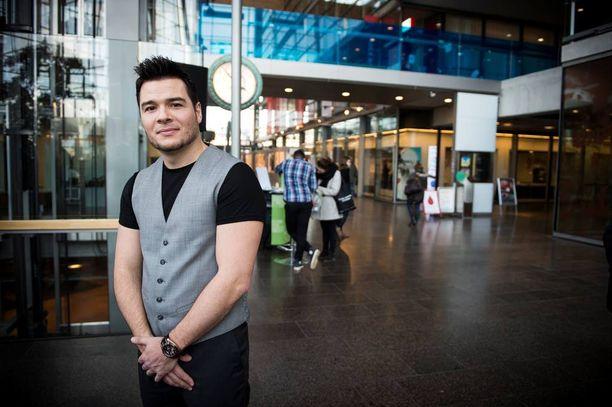 Daniel Sanz joutui luopumaan The Voice of Finlandin vuoksi työpaikastaan Venäjällä.