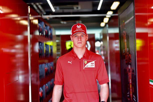 Mick Schumacher tiedetään Ferrarin pitkän tähtäimen projektiksi.