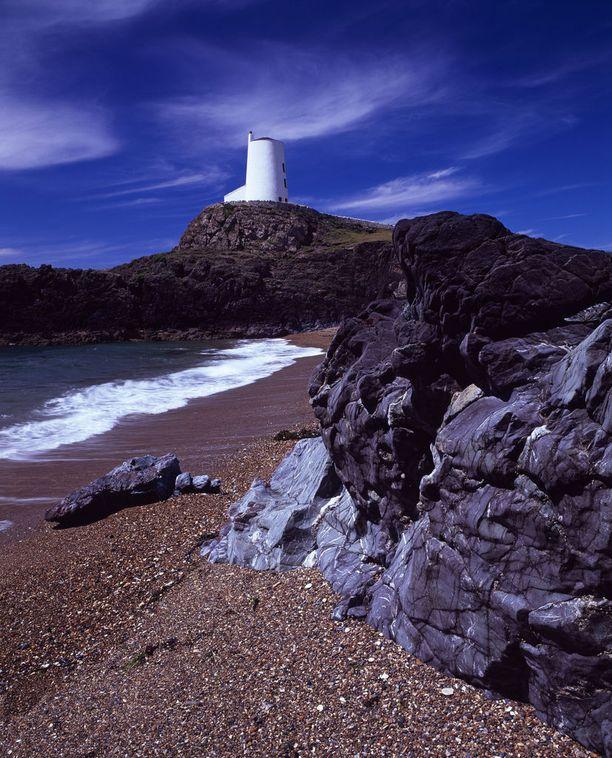 Llanddwyn Bayn rantaa on kehuttu jopa Britannian kauneimmaksi.
