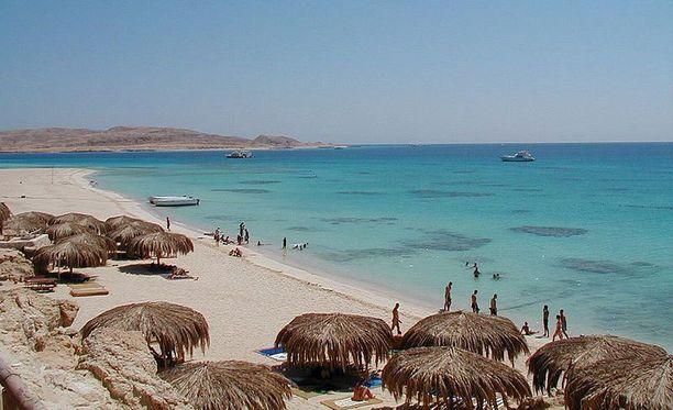 Hurghadan lomakohde on kuuluisa kauniista rannoistaan.