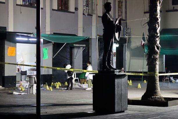 Ammuskelu tapahtui Meksikon itsenäisyyspäivän aattona.