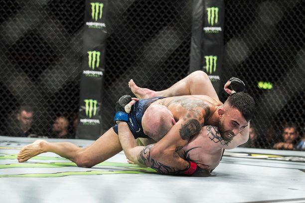 Makwan Amirkhanin painitaidot ovat maailmanluokkaa jopa UFC:n mittapuulla.