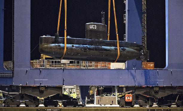 Keksijä Peter Madsenin Nautilus-sukellusveneestä löytyi huomattava määrä Kim Wallin verta.
