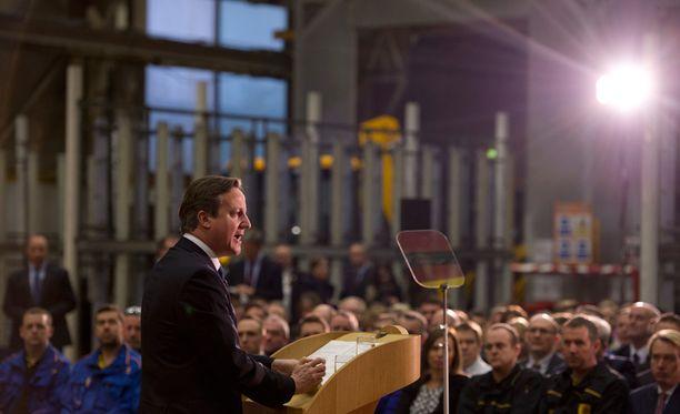 Pääministeri David Cameronin hallitus on käynnistänyt toimet orjuuden kitkemiseksi.