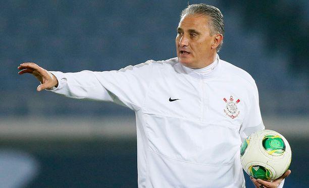 Tite ottaa ohjat Brasilian maajoukkueessa.