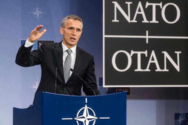 Nato-pomo Jens Stoltenberg kertoo odottavansa yhteistyötä Donald Trumpin kanssa.