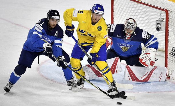 Ruotsi hallitsi MM-välierän toista erää.
