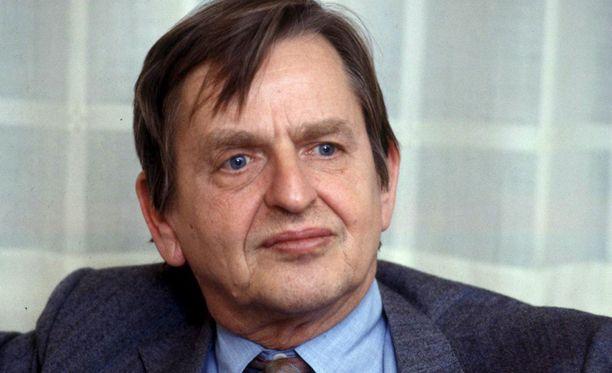 Olof Palme murhattiin vuonna 1986.