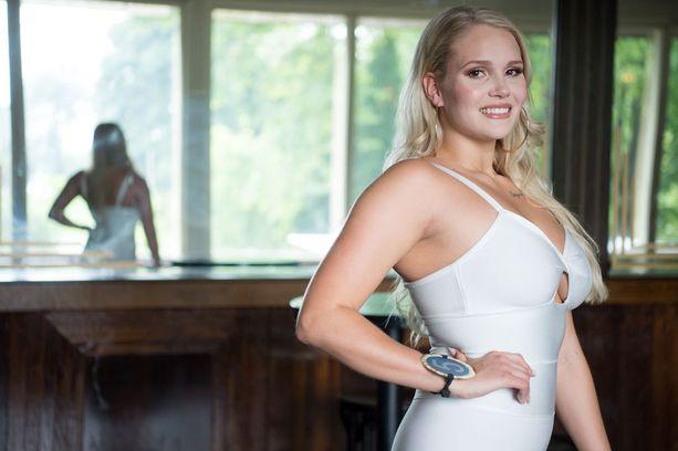 Miska Nikander sai Miss Helsingin perintöprinsessan tittelin tammikuussa.