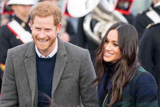 Prinssi Harry ja herttuatar Meghan ovat nyt pienen pohjan vanhemmat.