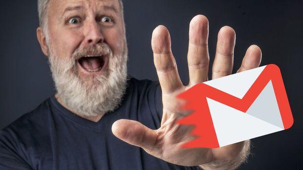 Viestin lähetyksen voi perua nyt Gmail-mobiilisovelluksissa. Kuvituskuva.