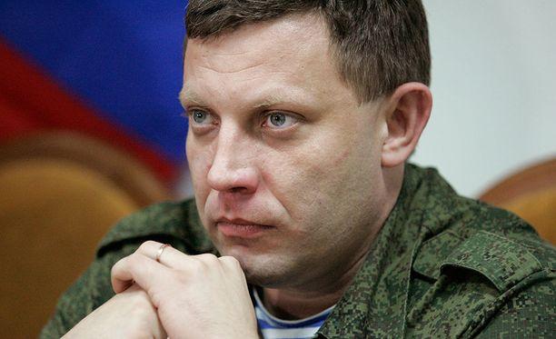Alexander Zakharchenko tunnustamattoman Donetskin tasavallan presidentti on kuollut räjähdyksessä.