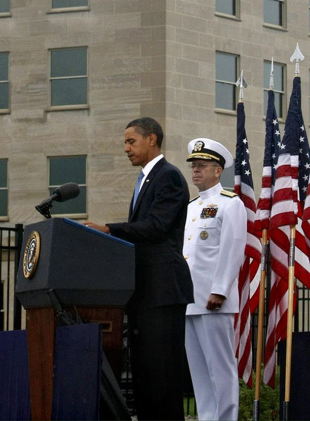 Presidentti Obaman mukaan terrori-iskujen aiheuttama tuska säilyy, vaikka aikaa kuluukin.