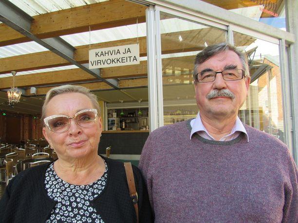 Raija ja Jyrki Oranen ovat kulkeneet samaa matkaa yli 45 vuotta.