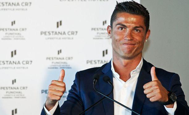 Cristiano Ronaldo on lähtenyt mukaan myös hotellibisnekseen.