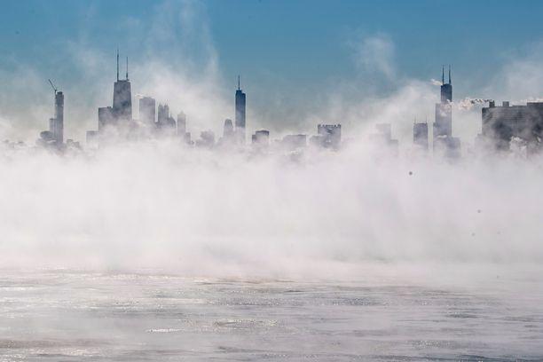 Chicagossa oli ennätyskylmää torstaina.