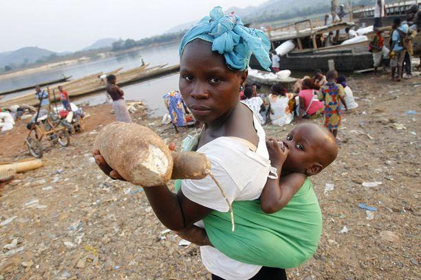 Kongossa on meneillään vakava humanitaarinen kriisi.