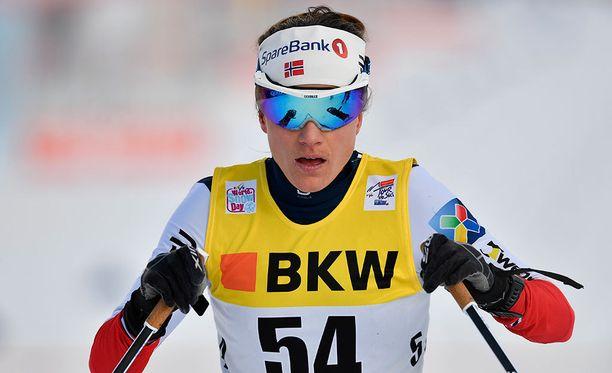Heidi Weng oli Tour de Skin toisella etapilla toiseksi nopein, mutta hänkään ei ollut tyytyväinen olosuhteisiin, joissa Lenzerheiden kilpailu käytiin läpi.