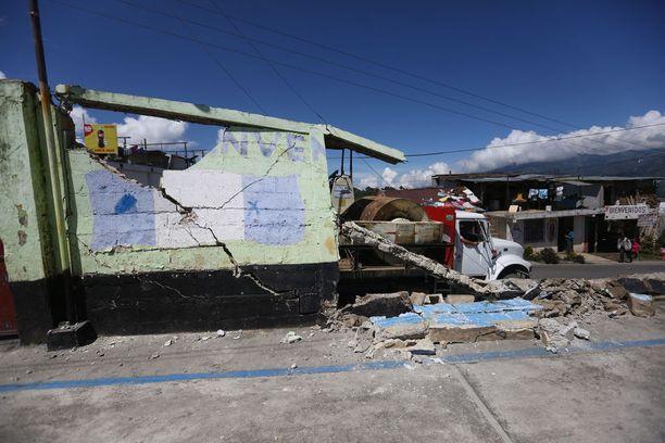 Tuhojen korjaaminen tulee viemään pitkään.