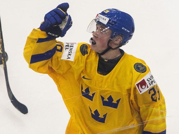 Noel Gunler on tuulettanut maalia jo neljä kertaa nuorten MM-kisoissa.