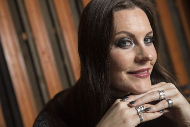 Floor Jansen on laulanut Nightwish-yhtyeessä seitsemän vuotta. Kuva vuodelta 2016.