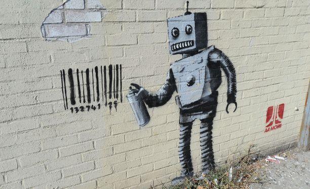 Banksyn ura käynnistyi jo 90-luvulla.