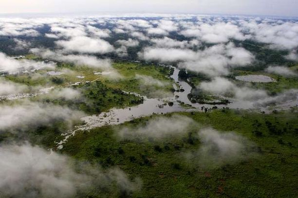 Vuonna 1938 perustettu Garamban luonnonpuisto on Unescon maailmanperintökohde.