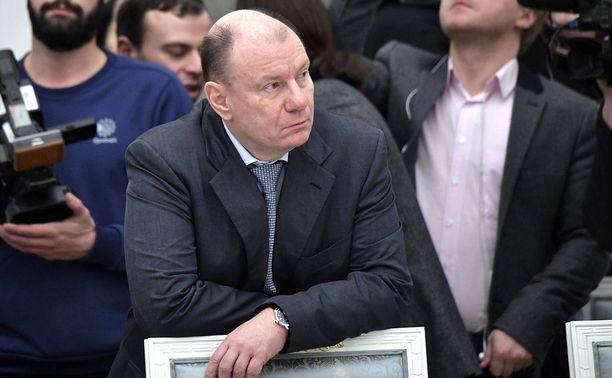 Norilsk Nickelin toimitusjohtaja Vladimir Potanin päätyi USA:n listalle.