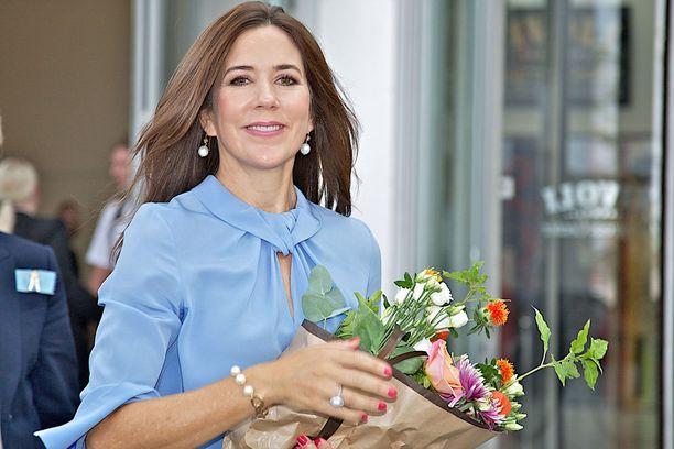 Tanskan kruununprinsessa Mary saapuu Suomeen 13. syyskuuta.
