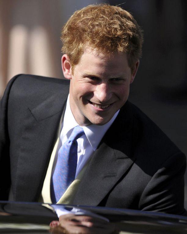 Prinssi Harryä kuvattiin tällä kertaa ilman naisseuraa.