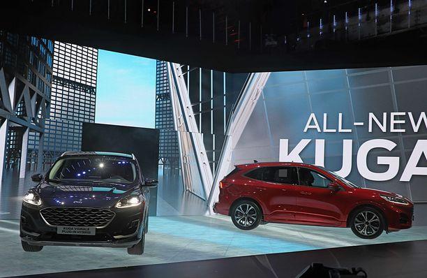 Ford esitteli Amsterdamissa uuden 2. sukupolven Ford Kugan.