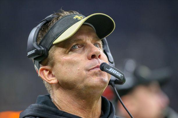 New Orleans Saintsin päävalmentaja Sean Payton ei voinut uskoa todistamaansa.