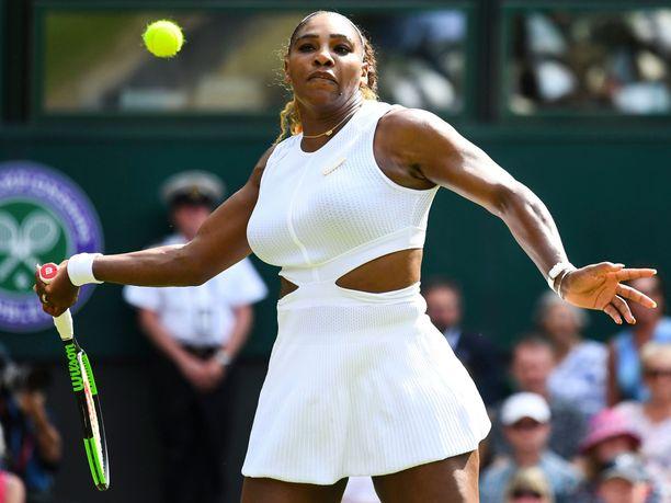 Serena Williams nähdään jälleen Wimbledonin loppuottelussa.